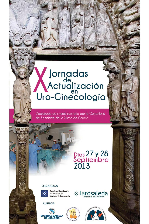 X Jornadas de Actualización en Uro-Ginecología