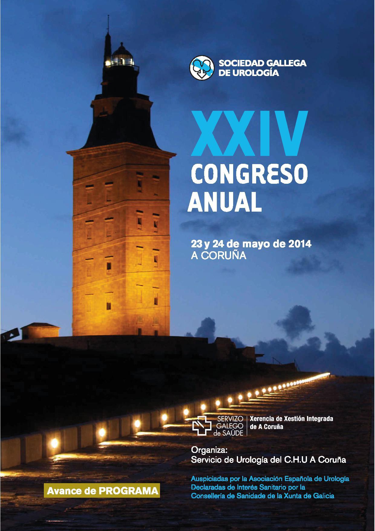 XXIV Congreso Anual de la Sociedad Gallega de Urología