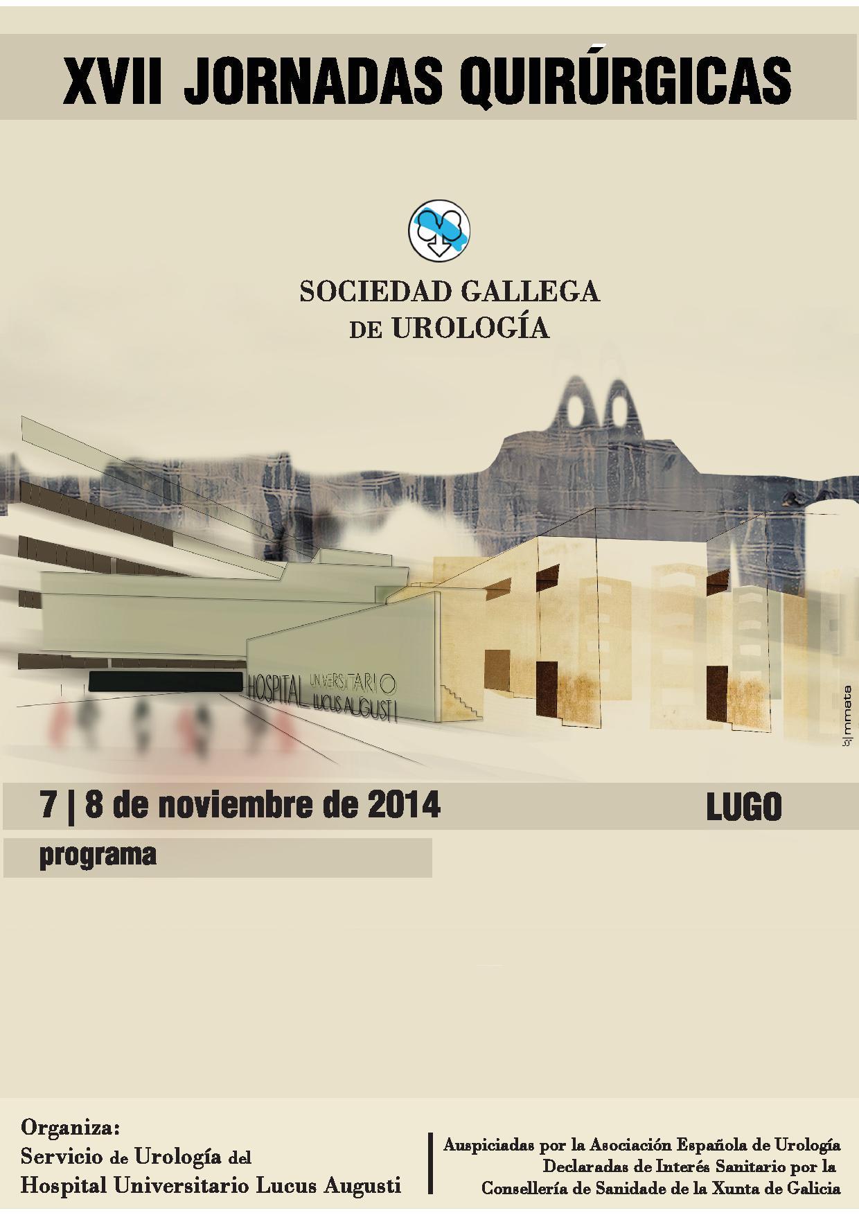 XVII JORNADAS QUIRÚRGICAS DE LA SOCIEDAD GALLEGA DE UROLOGÍA