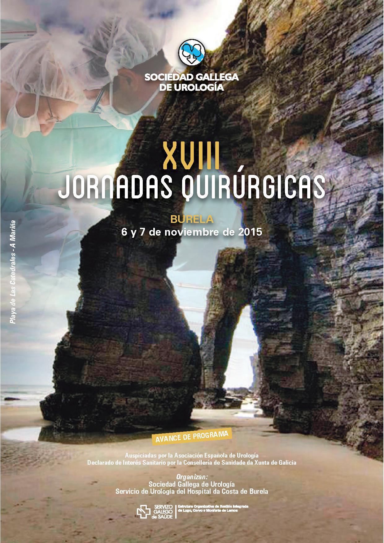 XVIII Jornadas Quirúrgicas de la Sociedad Gallega de Urología