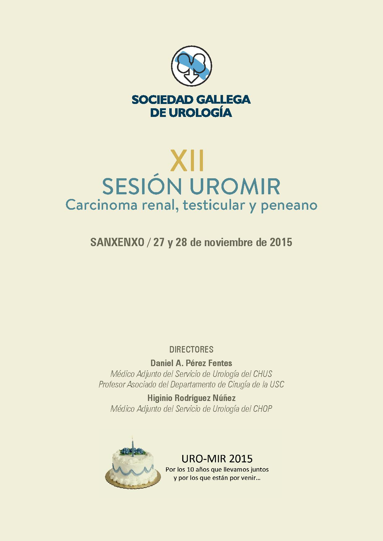 XII Sesión UROMIR 2015
