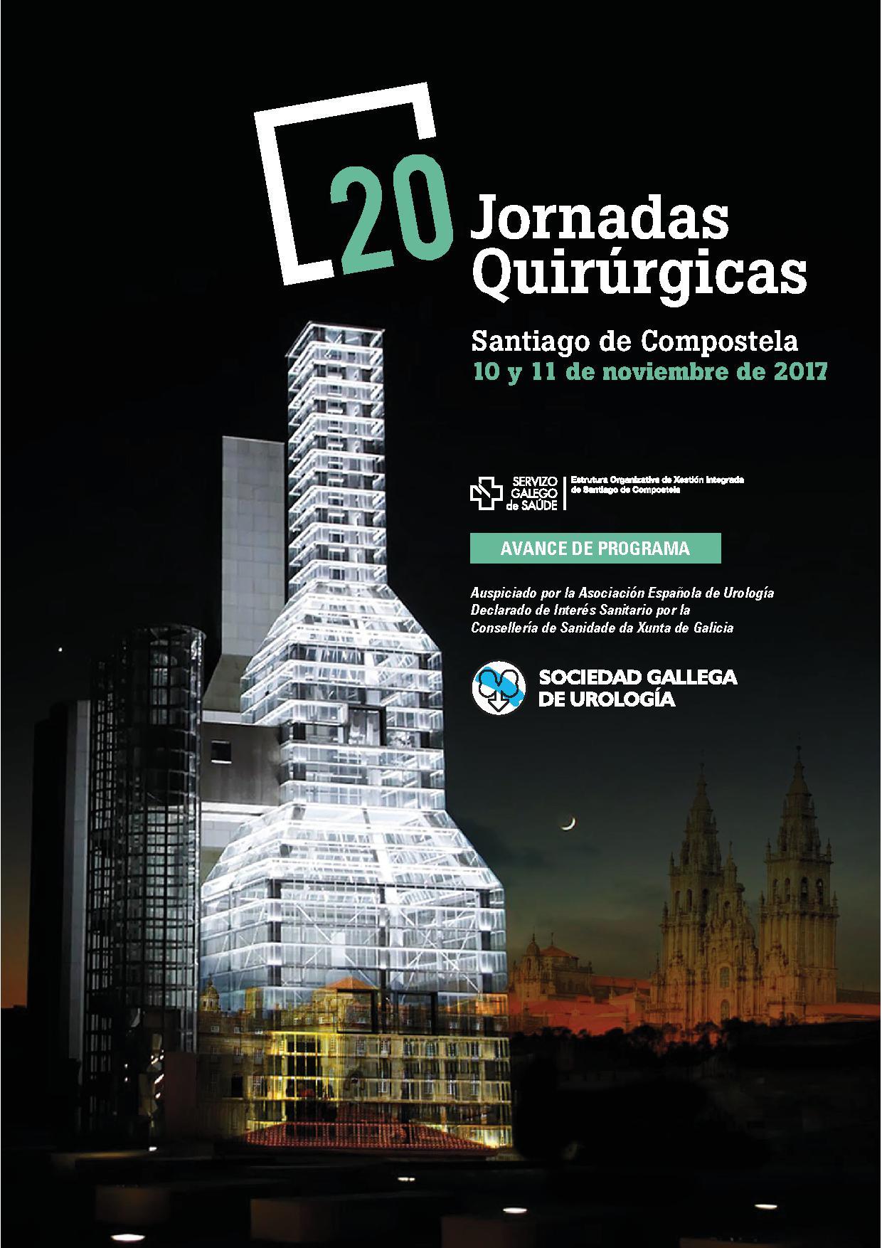 XX Jornadas Quirúrgicas de la Sociedad Gallega de Urología