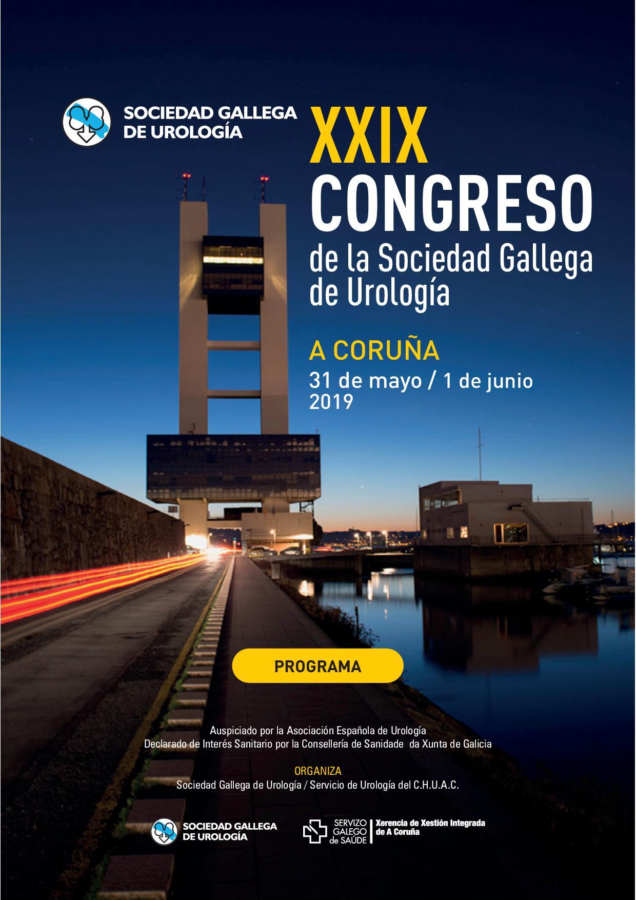 XXIX Congreso de la Sociedad Gallega de Urología