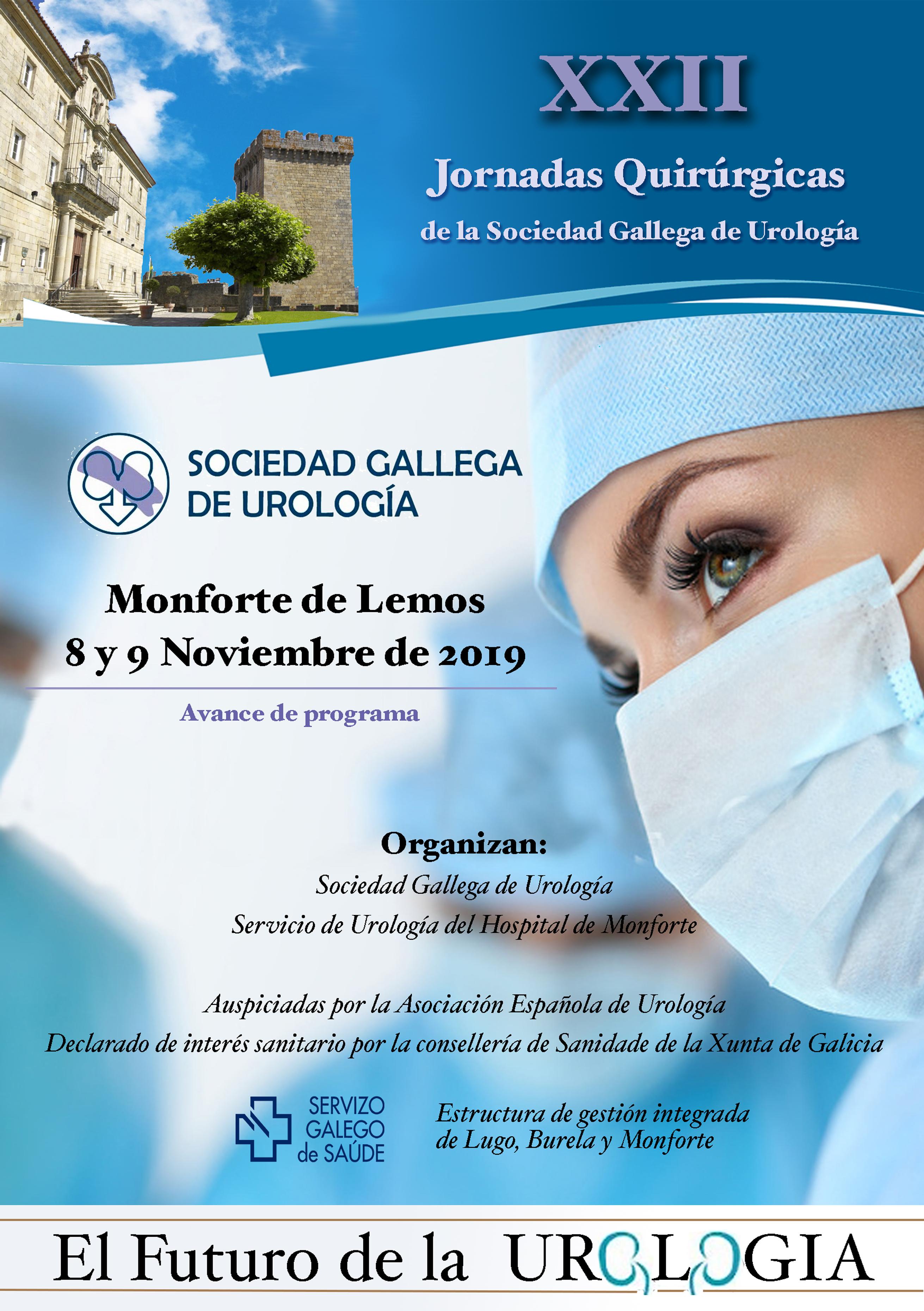 XXII Jornadas Quirúrgicas de la Sociedad Gallega de Urología