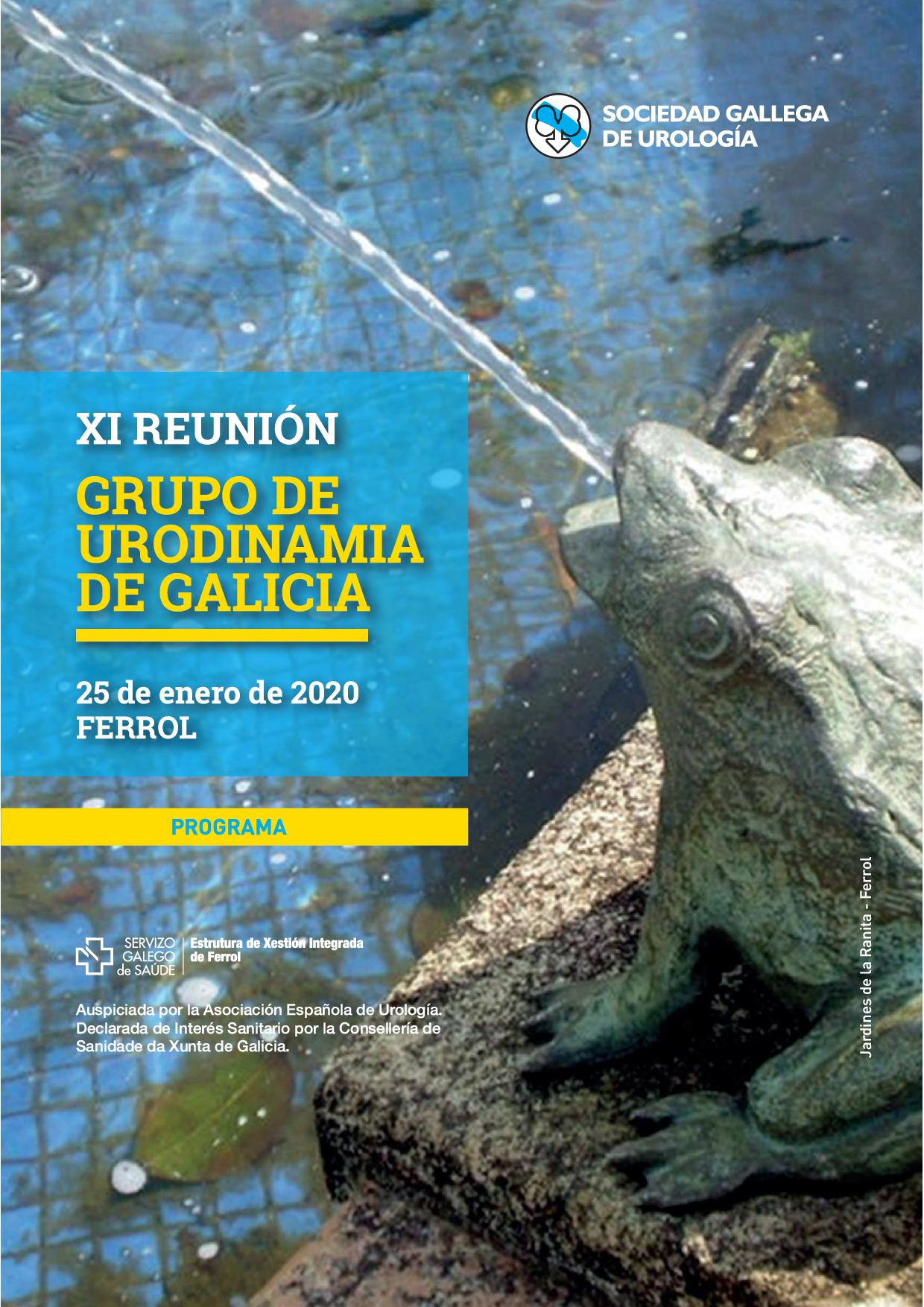 XI Reunión del Grupo de Urodinamia de Galicia